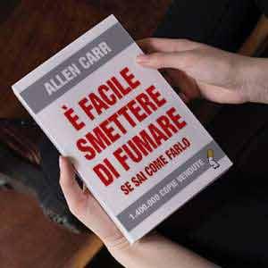 Smettere di fumare è possibile. Io l'ho fatto grazie a quel famoso libro di Allen Carr.